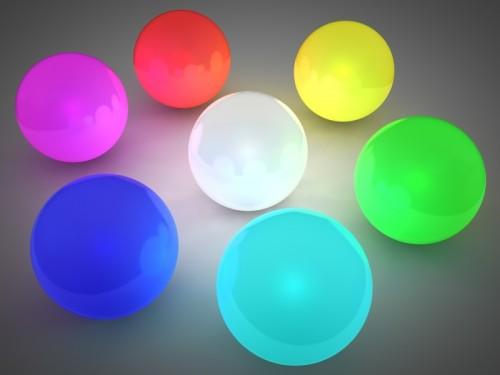boules lumière
