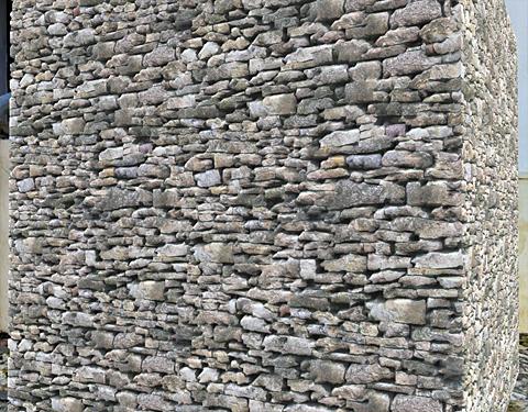mur pierres grand